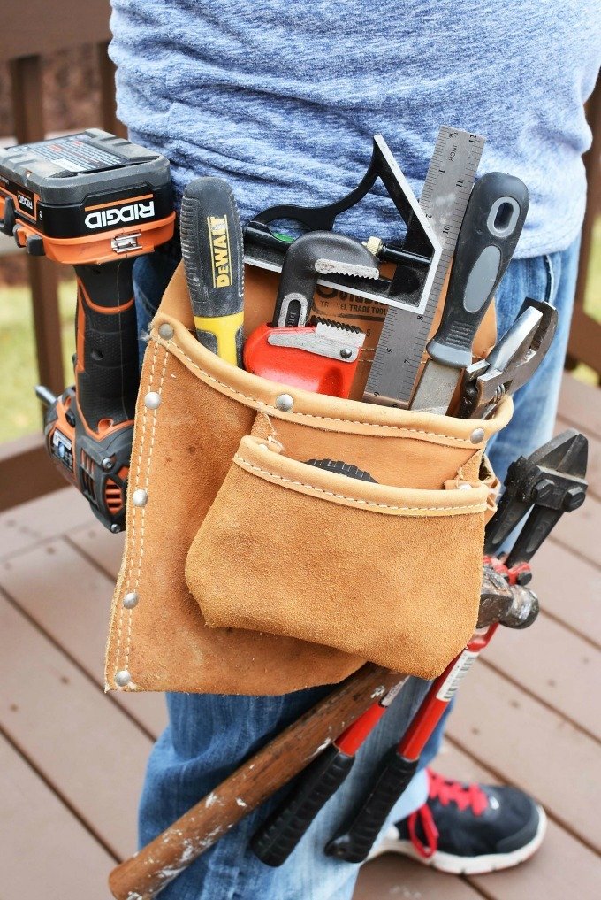 Tool Belt with Tools1